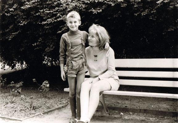 Der Autor mit der Freundin seines Vaters