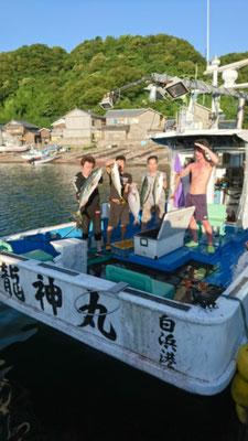 7月18日玄達遊漁 ブリ82cm