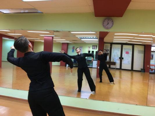 """Training im Saal des TSC """"Kristal"""" Varna"""