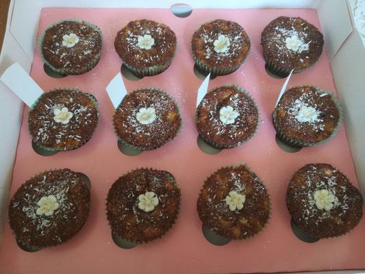 Mango Cupcakes Vegan