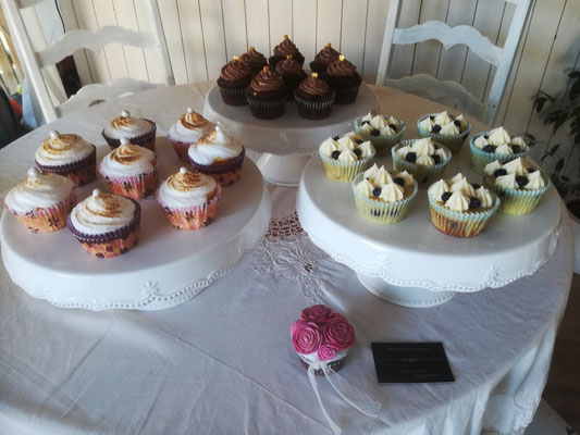 Passionsfrucht Cupcakes