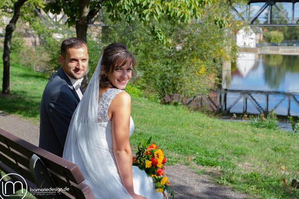 Brautpaarshooting am Schloss Rochlitz