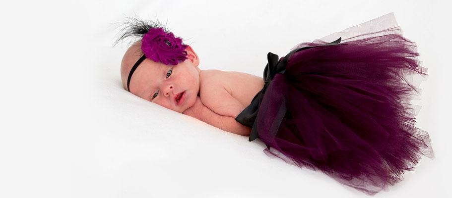 """Neugeborenenfotografie """"Kleine Prinzessin"""""""