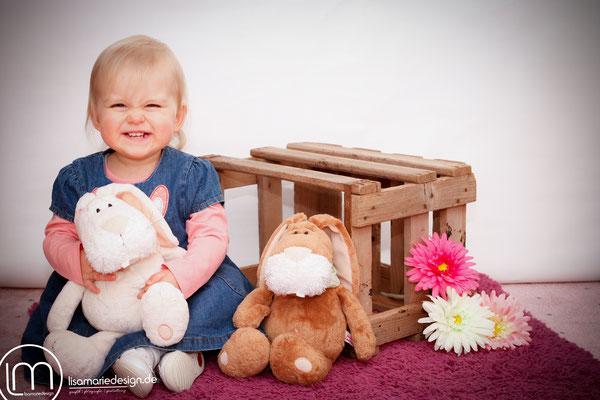 Aber das kleine Mädchen kann auch anders ;-)