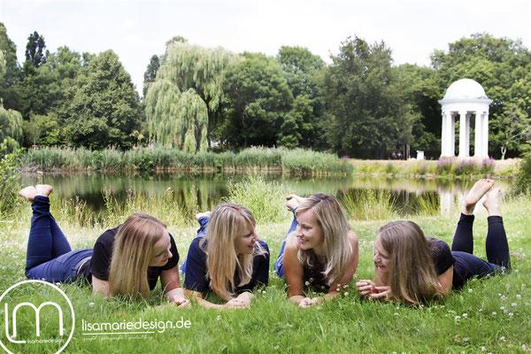 Freundinnenshooting im Agra-Park in Leipzig