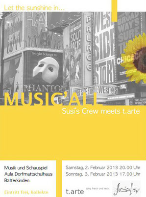 MUSIC'ALL Susi's Crew meets t.arte (2013)