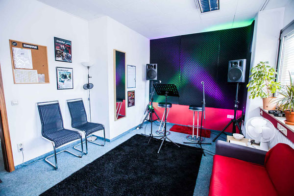 Gesangsraum Musikschule Music Secrets in Nürnberg