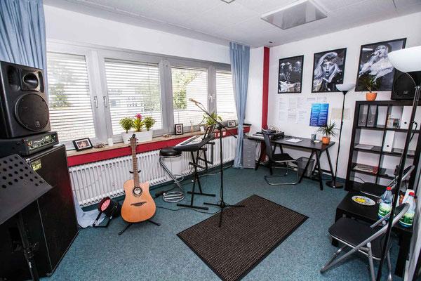 Gitarren Übungsraum Musikschule Music Secrets in Nürnberg
