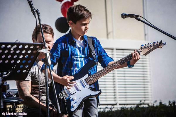 Gitarren  Liveauftritt in der Musikschule in Nürnberg
