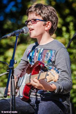 Gitarren Schüler Liveauftritt Music Secrets