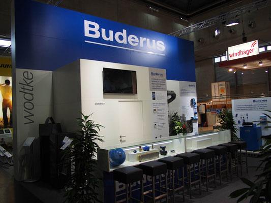 Messestand Buderus, Messe Aquatherm, Wien 2014