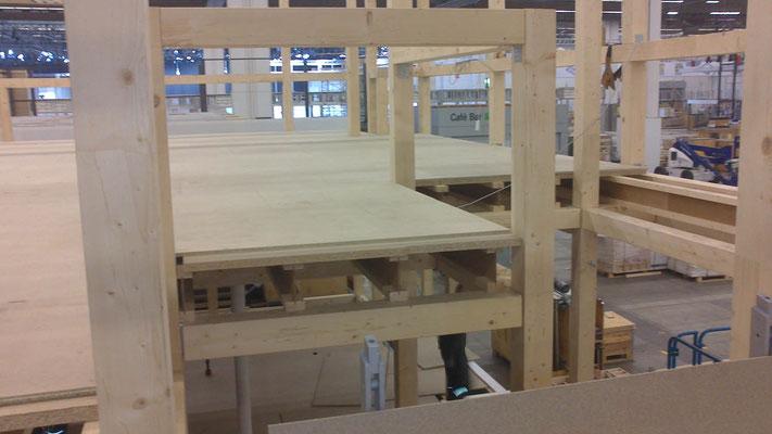 Aufbau und Montage am Beispiel Vogel & Noot Messestand, Messe ISH, Frankfurt 01.03.2013