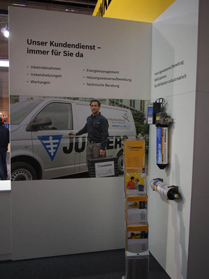 Messestand Junkers, Messe Aquatherm, Wien 2014