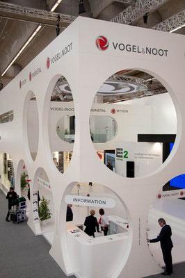 Messestand Vogel & Noot, Messe ISH, Frankfurt 2013
