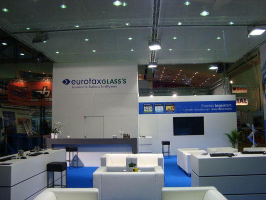 Messestand Eurotax, Messe Autozum, Salzburg 2013