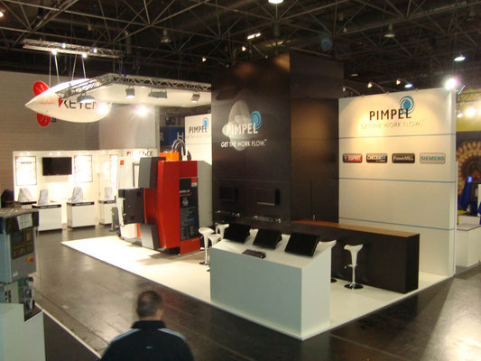 Messestand Pimpel, Messe Intertool, Wien 2014