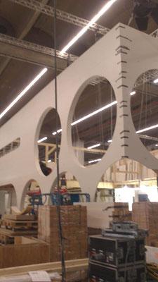 Aufbau und Montage am Beispiel Vogel & Noot Messestand, Messe ISH, Frankfurt 05.03.2013