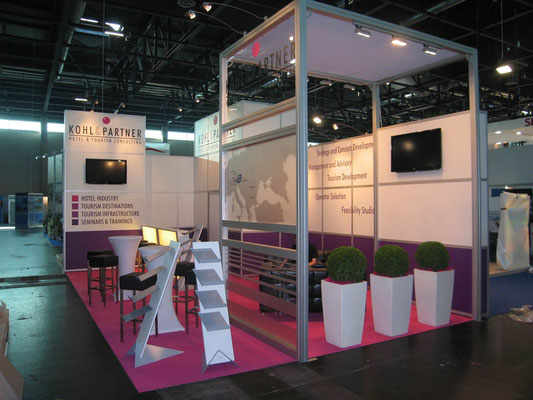 Messestand Kohl & Partner, Messe Real , Wien 2011