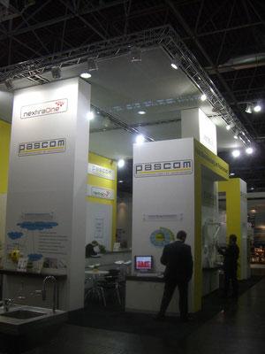 Messestand Pascom, Messe Medica, Düsseldorf 2009