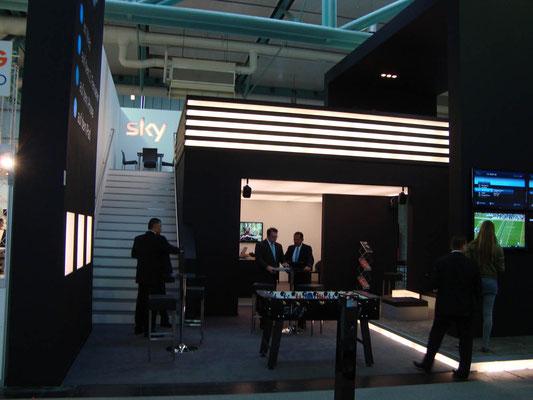 Messestand SKY TV, Futura, Sazburg 2011