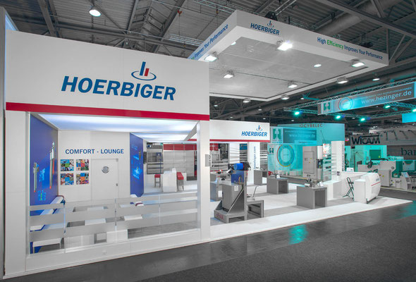 Messestand Hoerbiger, Messe Euroblech, Hannover 2014