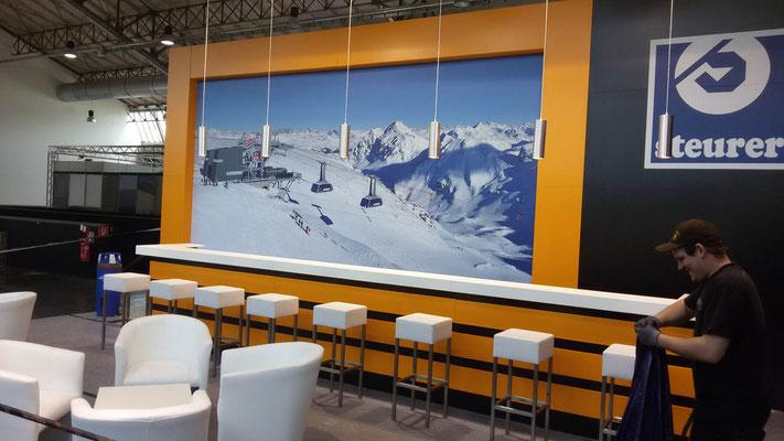Messestand Steurer, Messe Interalpin, Innsbruck 2015