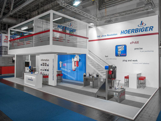 Messestand Hoerbiger, Messe Euroblech, Hannover 2012
