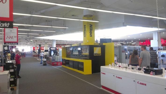 Shop in Shop Design Nikon, Graz