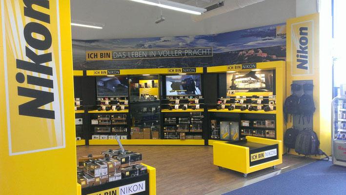 Shop in Shop Design Nikon, SCS Wien