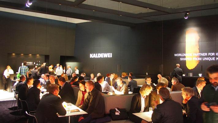 Messestand Kalewei, Messe ISH, Frankfurt 2015