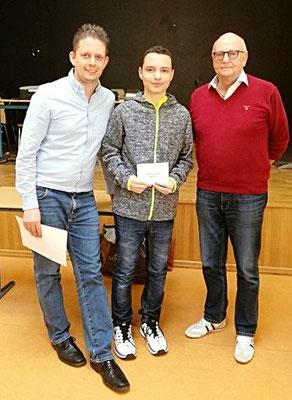 Turnierleiter Andi Albers + Kaloyan + Alfred Manke / Foto©Popvasilev