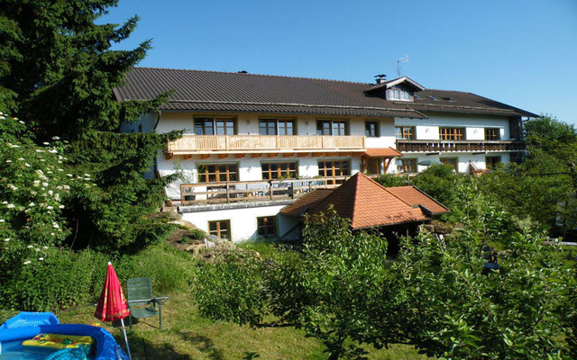Das Landhaus Riedelstein im Sommer