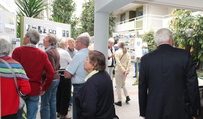 De tentoonstelling in Dijckstate trekt aardig wat bezoekers.