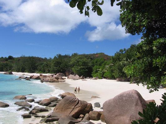 Spiaggia di Anse Lazio a Praslin, Seychelles
