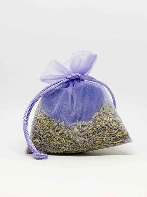 Lavendel Seifenherz mit echten Lavendel