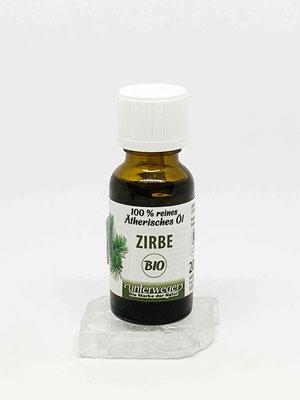 Unterweger Zirbenöl Bio, 100 % reinstes  ätherisches Öl
