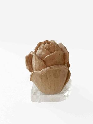 """""""Rose"""" aus Buchenholz handgearbeitet"""