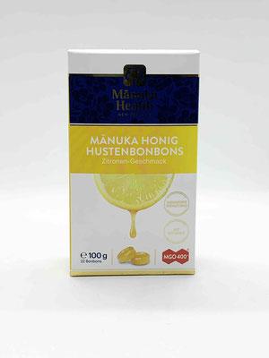 Hustenbonbon Manuka und Zitrone MGO 400+ (Manuka Health New Zealand)