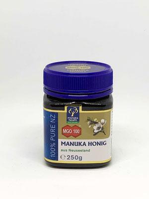 Manuka Honig MGO 100+  250g (Manuka Health New Zealand)