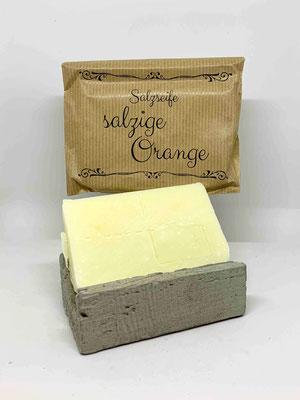 """Salzseife """"salzige Orange"""""""