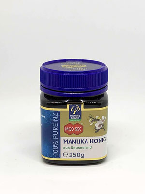 Manuka Honig MGO 550+  250g (Manuka Health New Zealand)