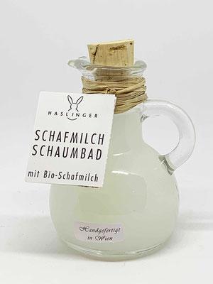 """Haslinger Schaumbadkrügerl """"Schafmilch"""""""