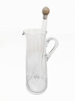 Wasserkaraffe mit Edelstein Phiole (ohne Edelsteine)