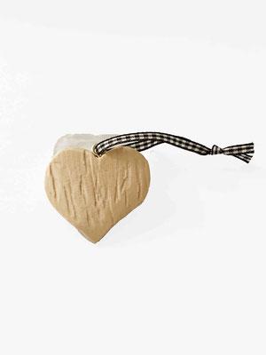 Buchenholz Herz, handgearbeitet