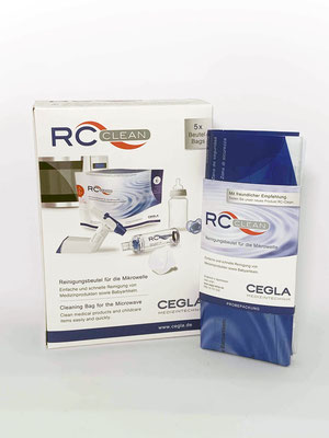 RC Reinigungsbeutel für die Mikrowelle