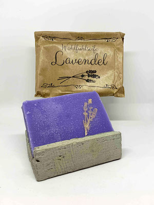 "Wohlfühlseife ""Lavendel"""
