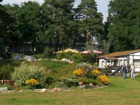 Hotel und Restaurant Landhaus Börnicke, Nauen bei Berlin - Naturgarten
