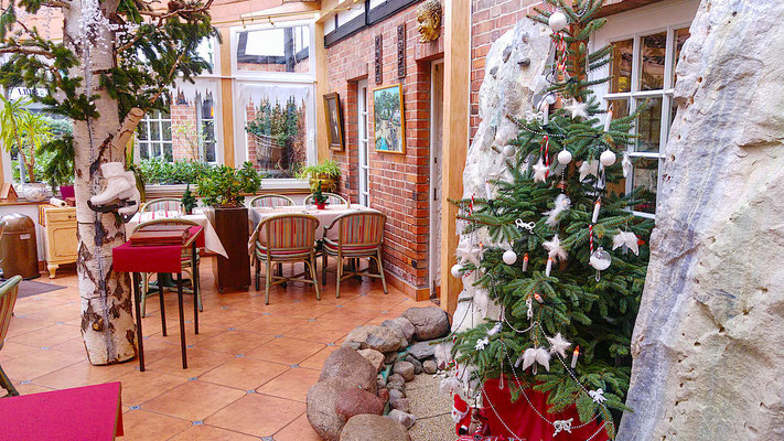 3 Sterne Hotel Landhaus Börnicke - Wintergarten