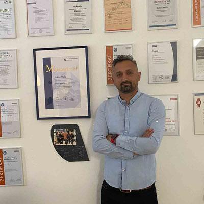 Schaller GmbH Meister Bekim Shala