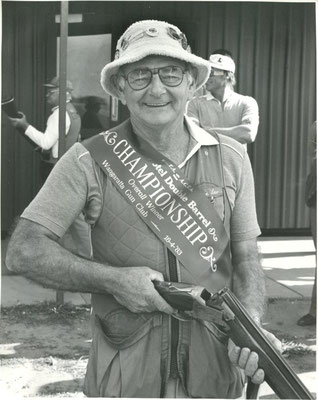 1983 04 16  Kevin Law, 12 times secretary of the Wang Clay Target Club.